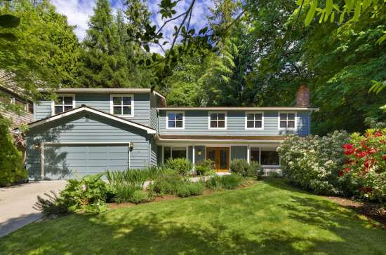 Serene Traditional on Mercer Island