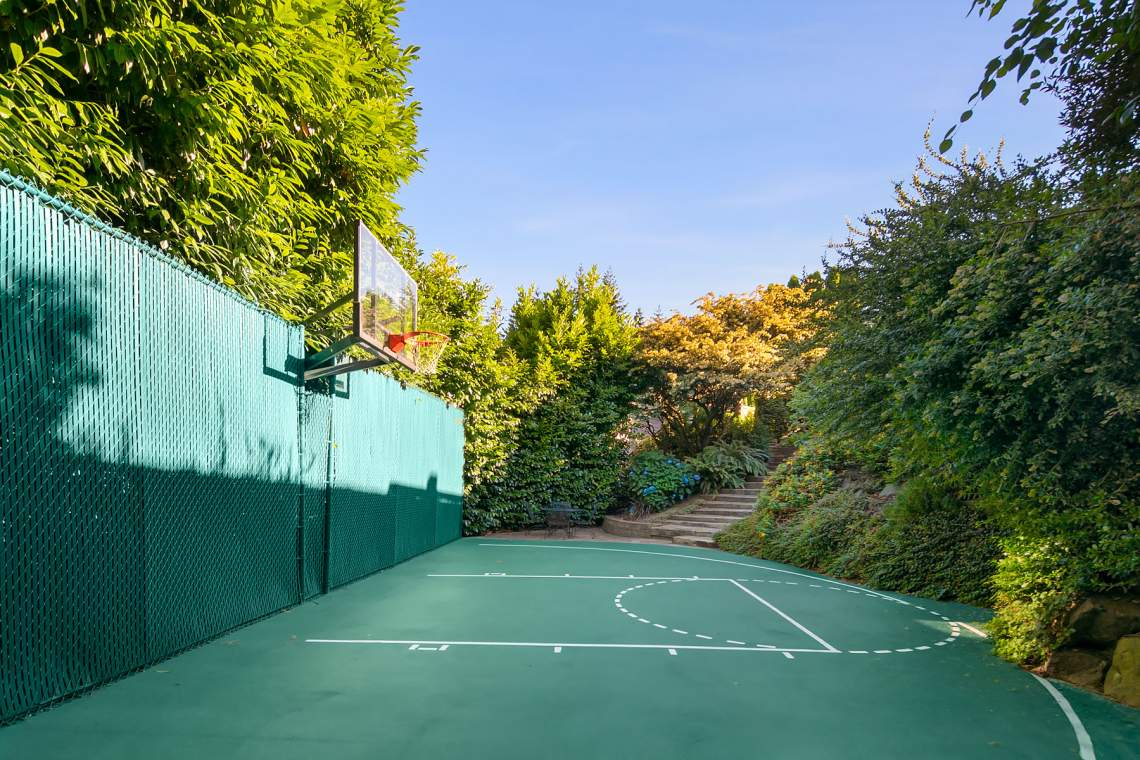 Basketball court - another angle